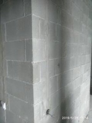 стіни з шлакоблоку обробляються грунтом